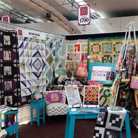 Sew Many Creations, Quilt Market 2014 Pittsburgh