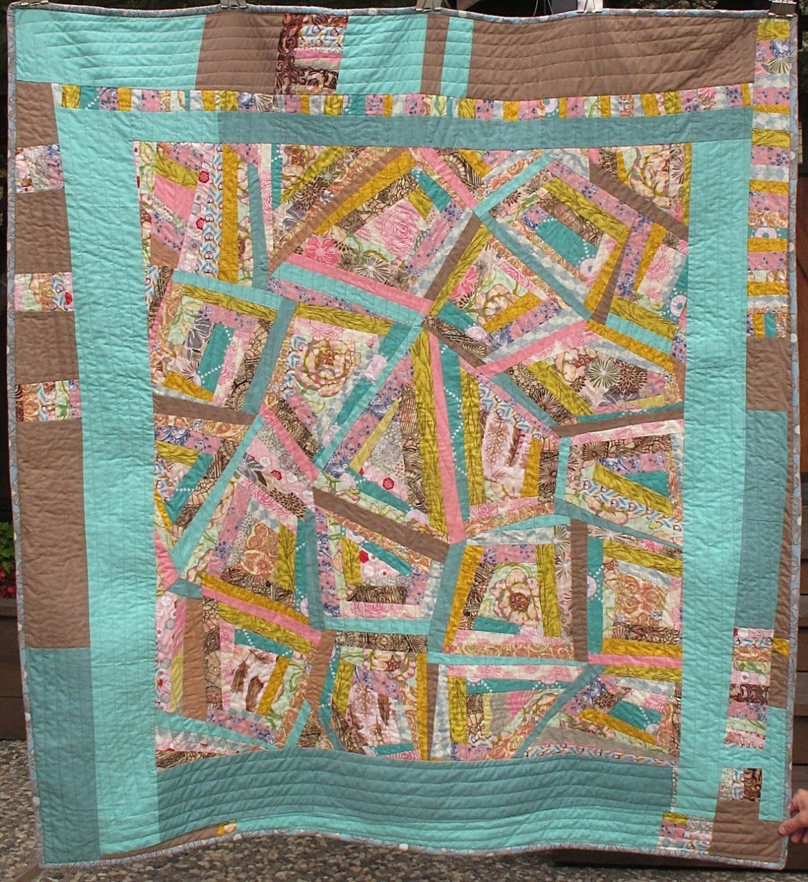 King Khalsa quilt by Carol Van Zandt