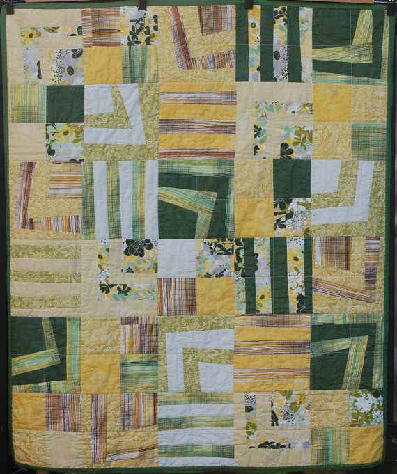 Greenery Quilt by Margaret Glendening