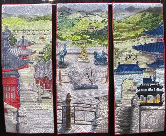 Chinese Journey in Three Parts by Stephanie Crawford, UK