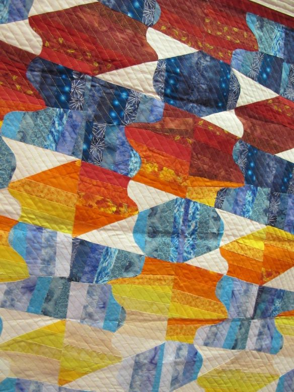 Detail of 3 Primary Colors & Shades. Israel