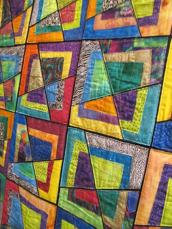 Detail of Dancing Squares by Ruthi Eldar. Israel