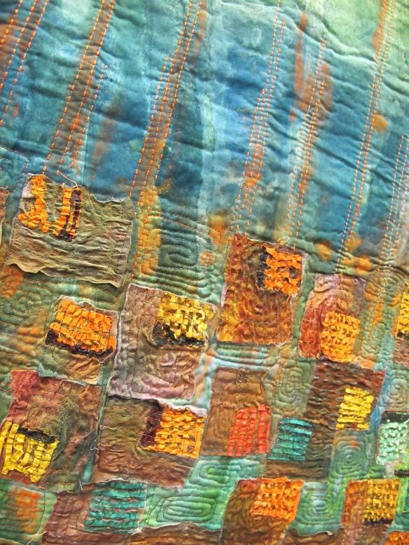 Detail of Grounsel and Chrysanthemum by Ita Ziv. Israel