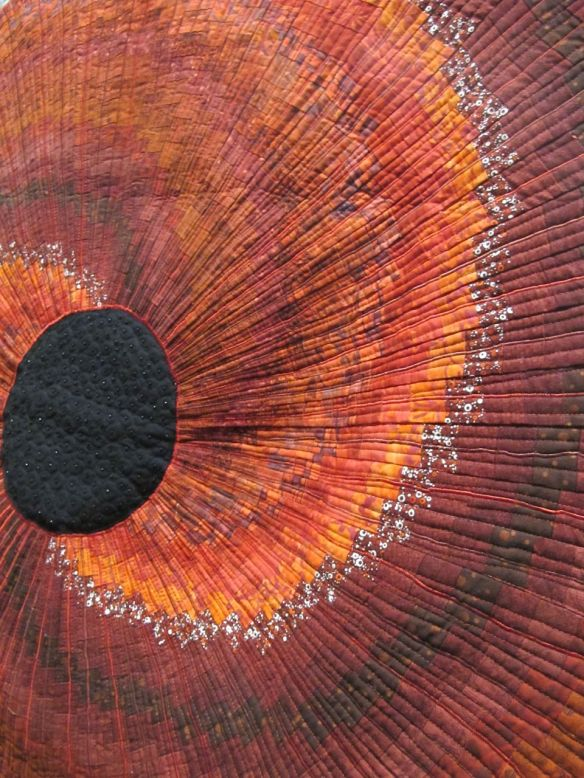 Detail of In Flanders Fields by Catherine Millar, UK