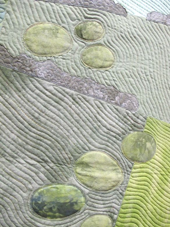 Detail of Tumuli by Kate Dowty, UK