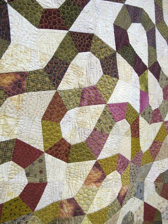 Detail of Up the Garden Path by Helen Pedersen, New Zealand