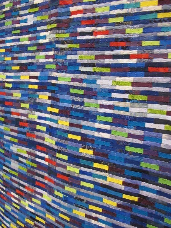 Detail of Who Won in London 2012 by Caroline Wilkinson, UK