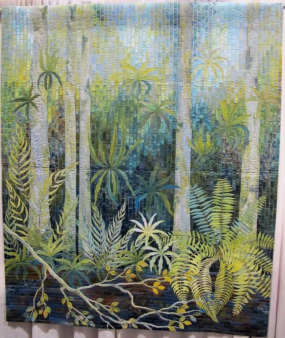 Fern pool by Gloria Loughman, Australia
