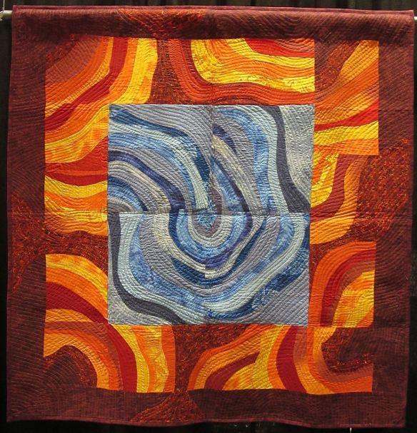 Fire & Ice by Klara Schafler-Landesberg. Israel