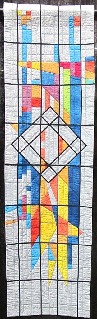 Memorial Star Quilt by Fiona Macaulay Davies, UK