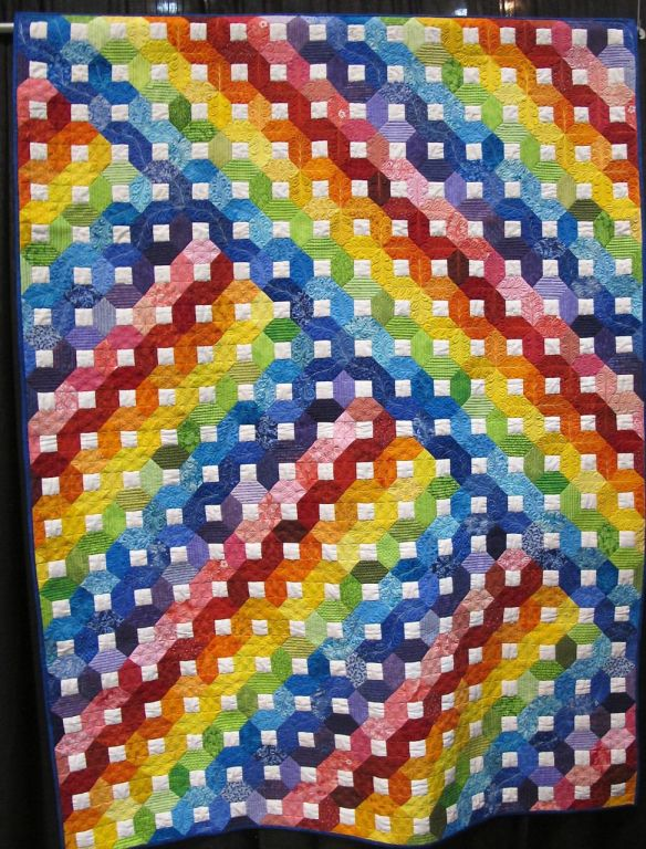 Rainbow Quilt by Grit Kovacs, Germany