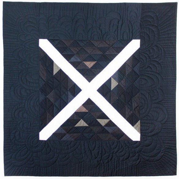 The X Quilt by Stacey Sharman of Peppermint Pinwheels