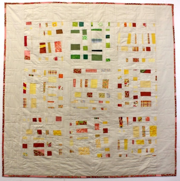 The Confetti Quilt by Stacey Sharman of Peppermint Pinwheels