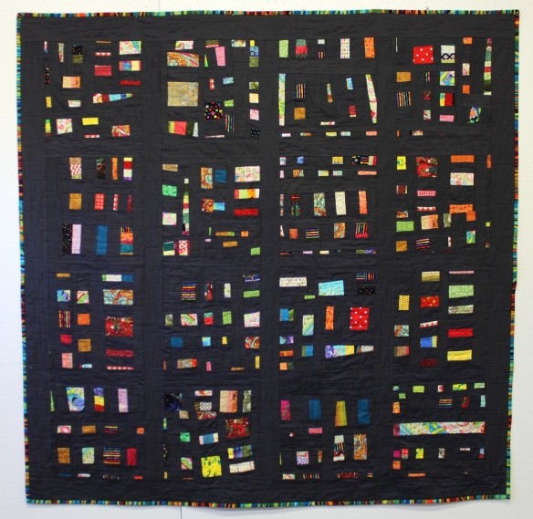 The Embers Quilt by Stacey Sharman of Peppermint Pinwheels