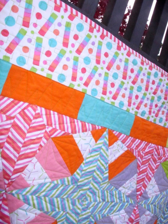 The Carnival Quilt by Stacey Sharman of Peppermint Pinwheels