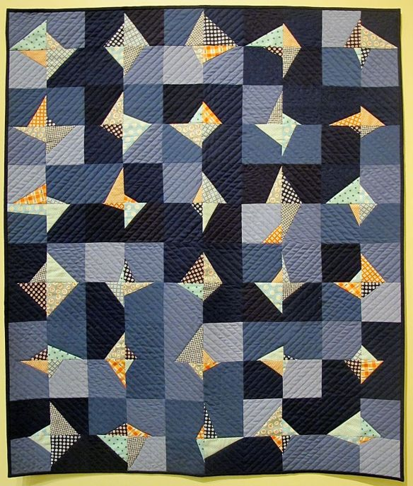 What I Had by Kim Andersson, 2014. Quilted by Terry Carpenter