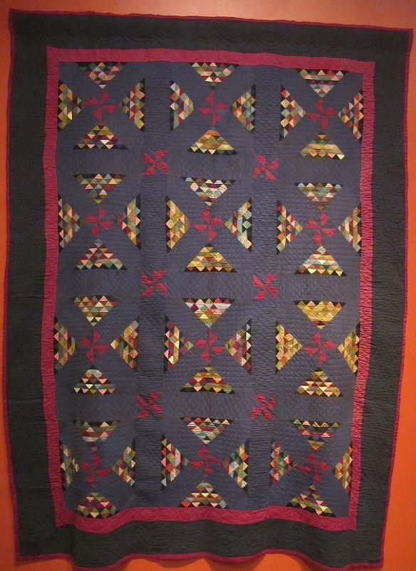 Railroad Crossing, c. 1890-1910. Unknown maker. Baltic, Holmes County. Cotton.