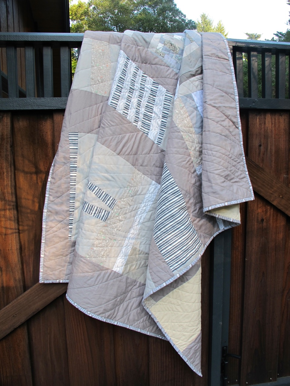 Shades of Grey Quilt by Carol Van Zandt