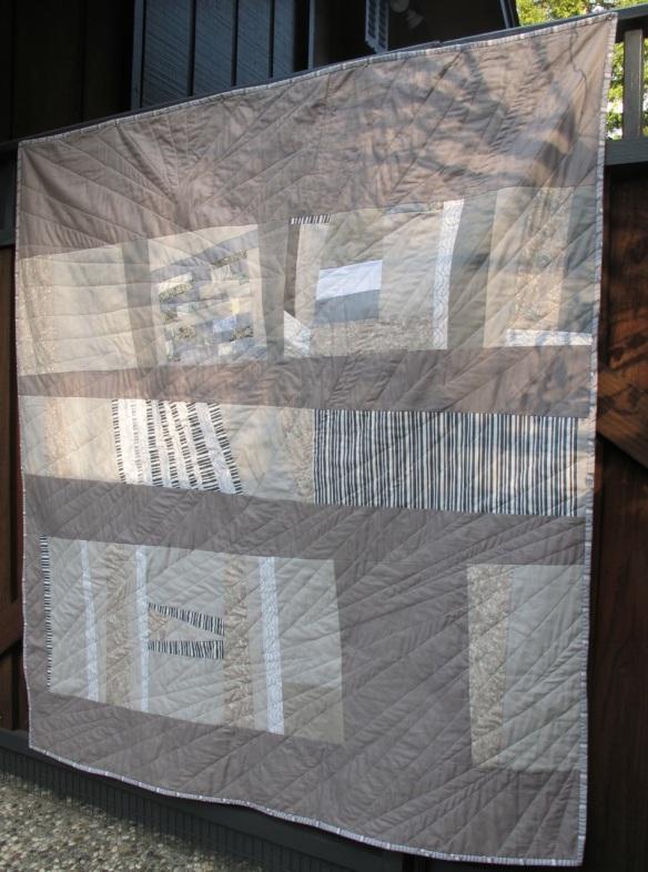 Shades of Grey Quilt by Carol Van Zandt