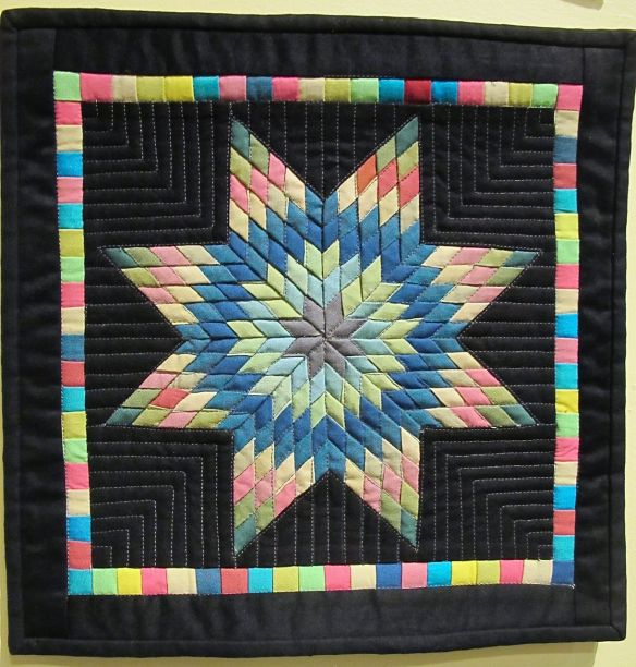 "Mini Quilt 12""x12"" by Stacey Sharman"