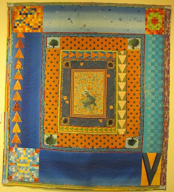 Ben's Quilt by Wendeanne Ke'aka Stitt