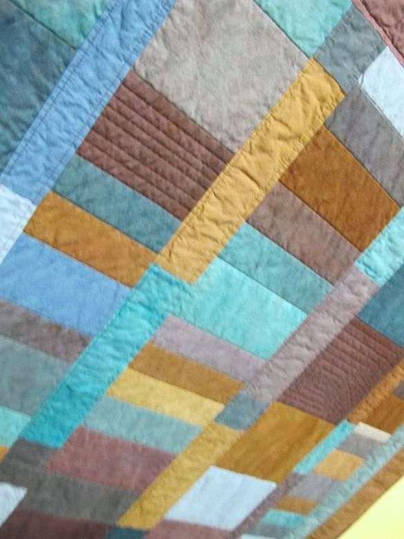 Amish Stripes by Linda Hlady, quilted by Terry Carpenter