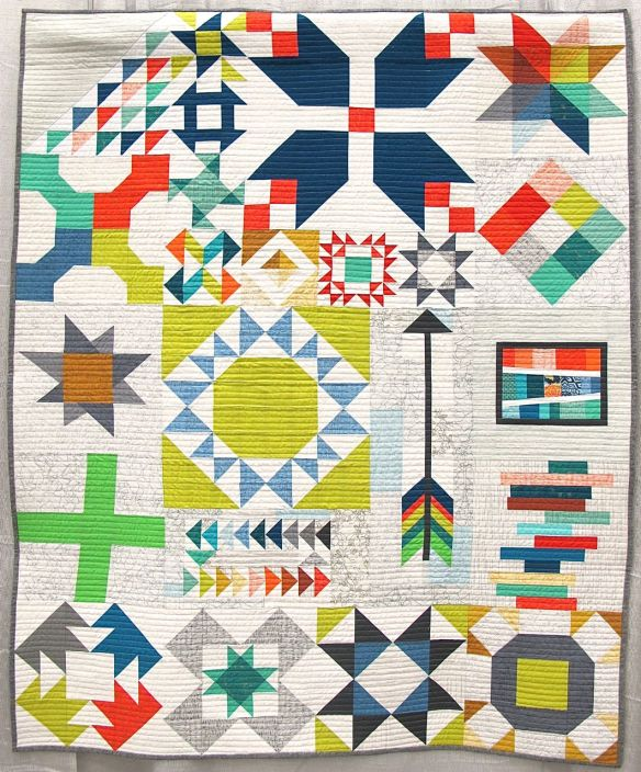 Long Island Modern Sampler by Kim Soper, Centerport, New York