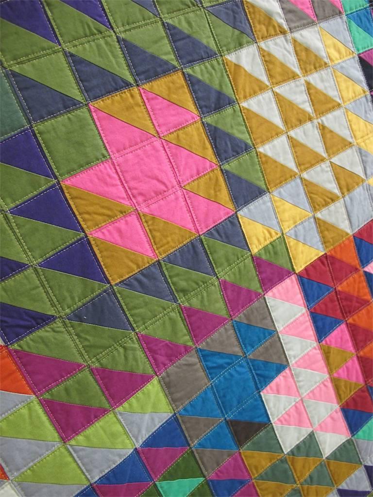 Half Square Triangles by Tara Faughnan, Oakland, California