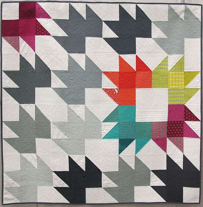 Spiced Chai Quilt by Katie Blakesley, Portland, Oregon