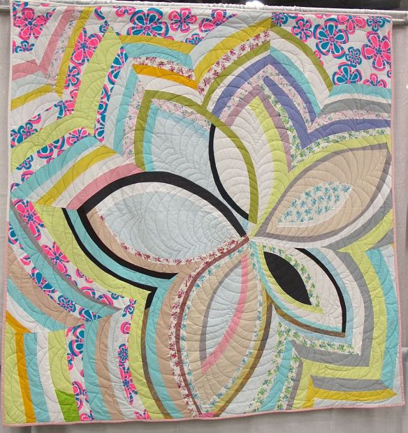 Score For Bias Strip Petals: Daisy by Sherri Lynn Wood. Oakland, California
