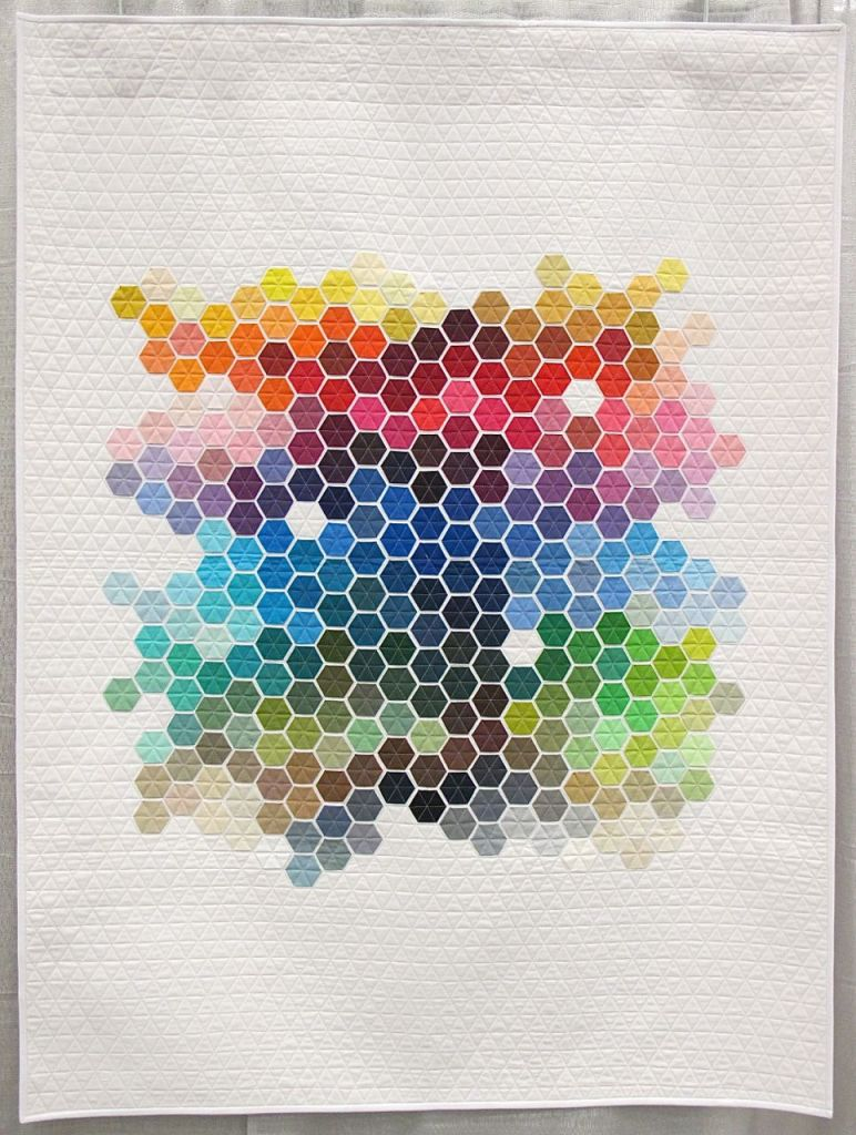 Geometric Rainbow by Nicole Daksiewicz. Chicago, Illinois.