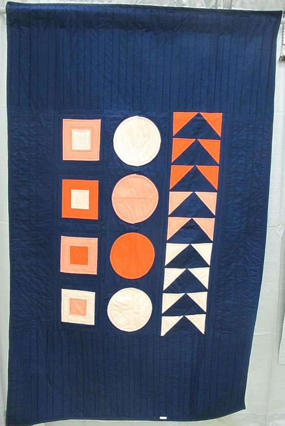 Wooden Block Quilt by Sarah Laws. Portland, Oregon.