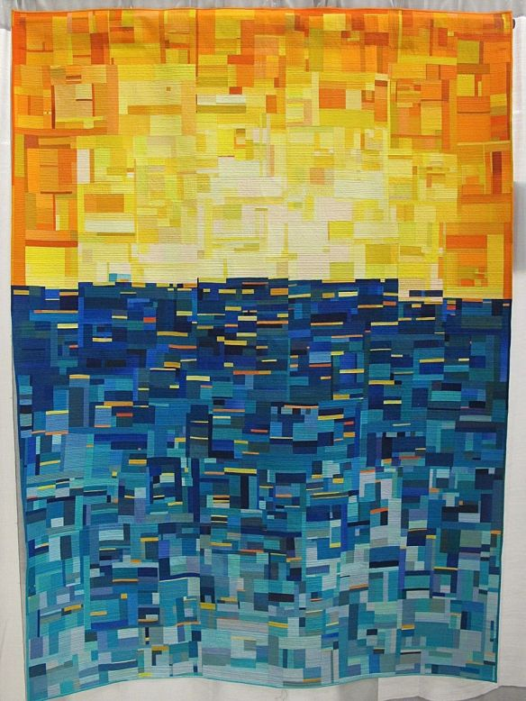 For Tanya by Emily Coffey. Lane Junaluska, NC. Judge's Choice, QuiltCon 2015