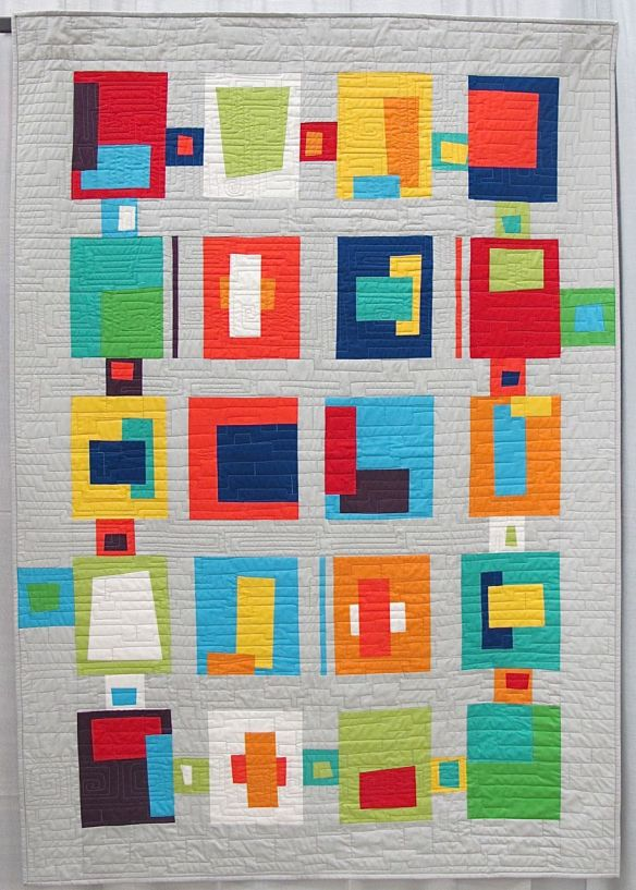 Blocks from the Crayon Box by Carolyn Griffith. Abilene, Texas.