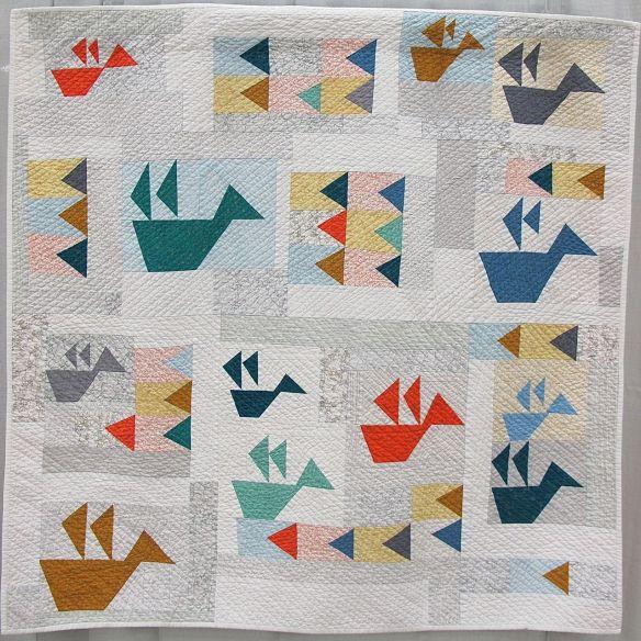 Folded Flock by Jenna Brand. Dexter, Michigan