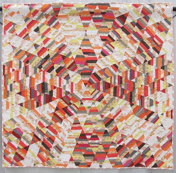 Sunburst Quilt by Tara Faughnan. Oakland, CA.