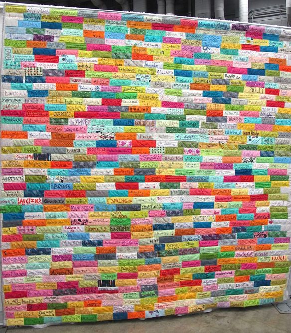 Hometown Quilt by Gina Pina. Austin, Texas.