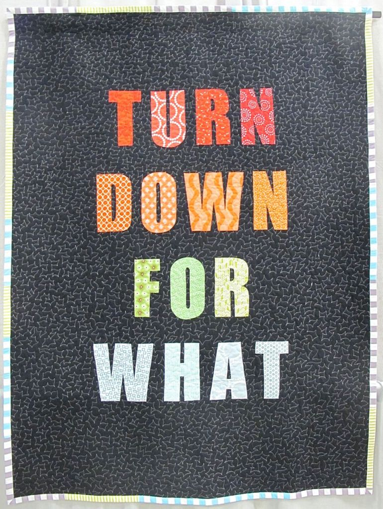 Turn Down For What by Lauren Palmer. Lexington, Kentucky.