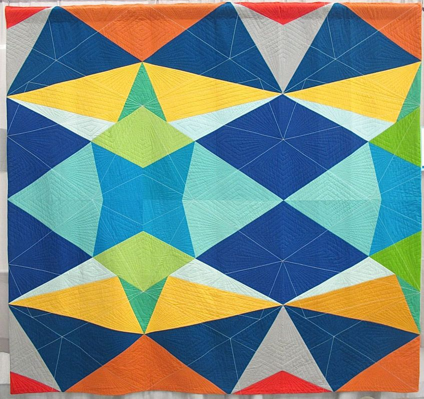 Fractal Kaleidoscope by Katie Larson. Kansas City, Kansas.