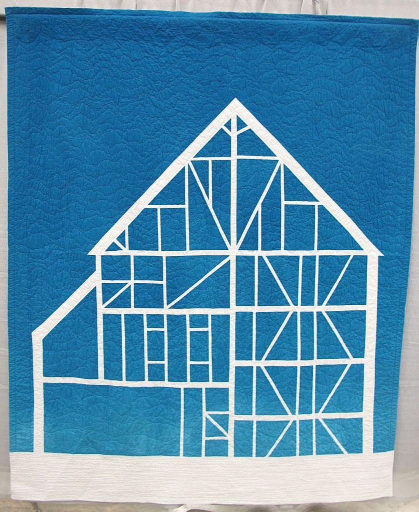 Barn-Remnant by Kim Eichler-Messmer. Kansas City, Kansas.