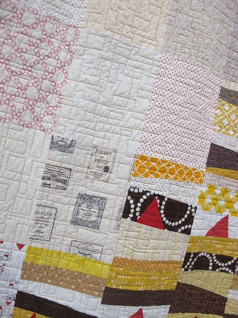Ascent. Thorndale, Texas. Pieced by Toni Lovelady, Heidi Grohs, Andy Knowlton, Bobbi Brekke, Jennifer Worthen, Carie Jo, Rachel Booth, Lindsay Connor, Jennifer Pelecchia, Amanda Hohnstreiter. Quilted by Amanda Hohnstreiter. Block Design by Deborah Aspuria. Quilt Design by Amanda Hohnstreiter.