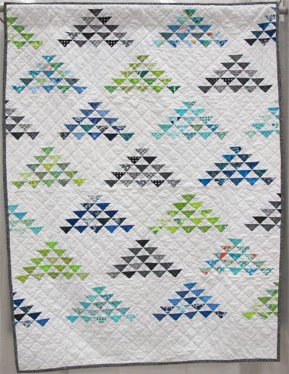Flocks & Blocks. Indianapolis, Indiana. Quilted Amy Garro.