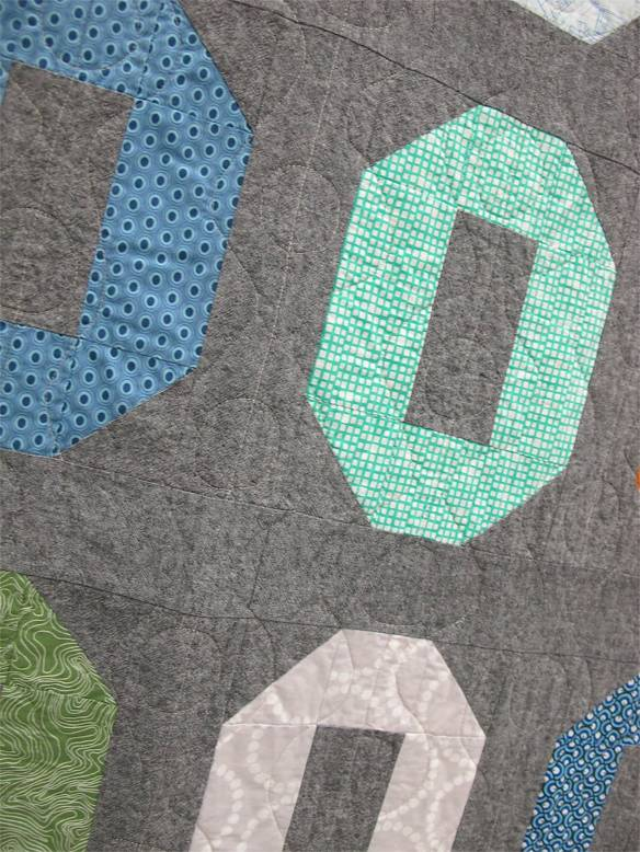 MQG 2014 Quilt of the Month: April. Stretched Shoo Fly by Josee Carrier. Montreal MQG.