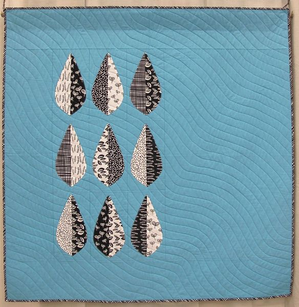 MQG 2014 Quilt of the Month: February. Zephyr by Debbie Grifka. Ann Arbor MQG.