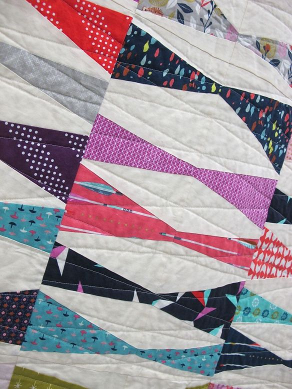 MQG 2014 Quilt of the Month: August. Kite Tails by Amy Friend. Seacoast MQG.