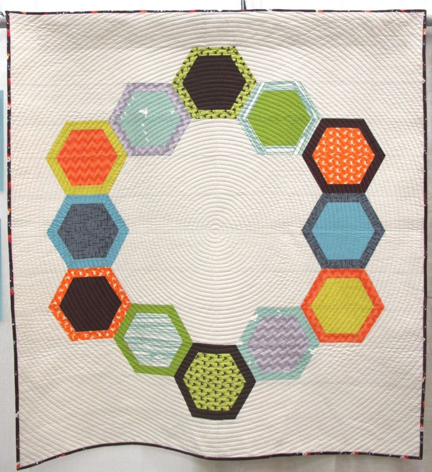 Mod Hex 2 by Jen Sorenson. Northborough, Massachusetts.