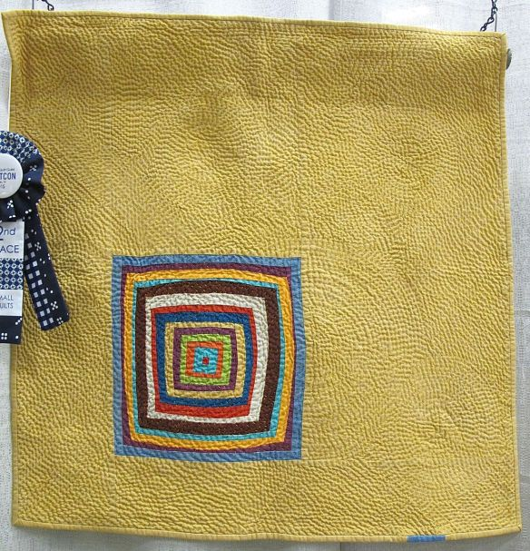 In Wedowee by Chawne Kimber. Easton, Pennsylvania. 2nd Place, Small Quilt category, QuiltCon 2015