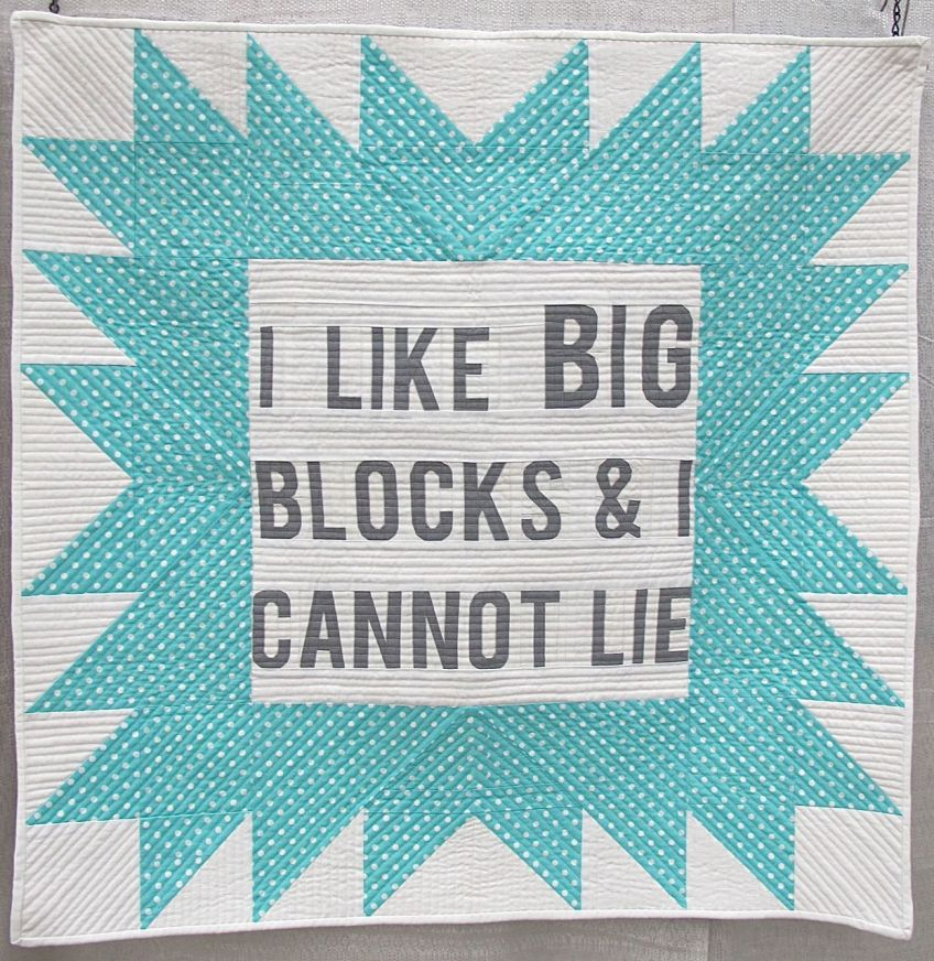 I Like BIG Blocks and I Cannot Lie by Allison Chambers. San Antonio, Texas.