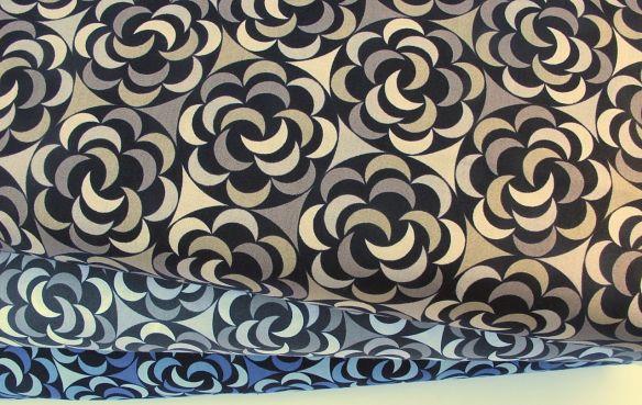 """Fleur Luna"", Luna Lounge by Carol Van Zandt LLC for Andover Fabrics"