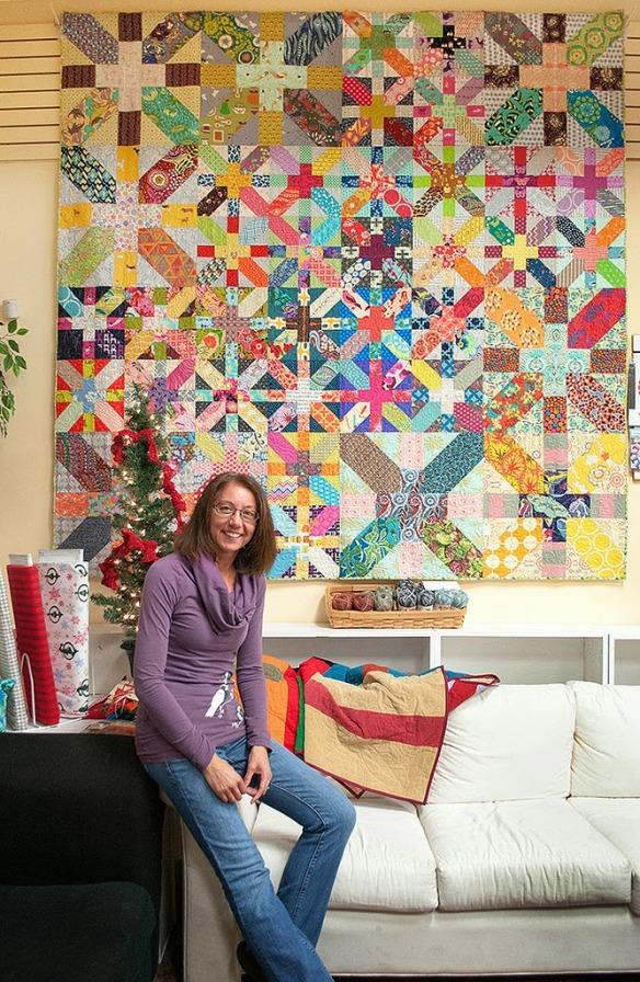 xPlus Quilt by Karen Foster, Capitola Quilter